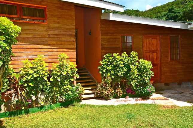 Cottage Kaz Ladouceur in Seychelles